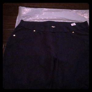 Micheal  Kors Navy blue tight fitting pants, 2x